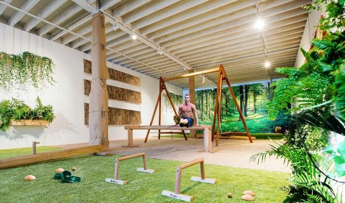 Для тех, кто любит всё с приставкой эко: экологичный тренажерный зал