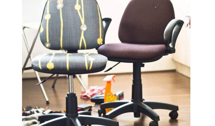 Как сделать ремонт офисного кресла своими руками — перетяжка кресла, чтобы дать ему вторую жизнь!