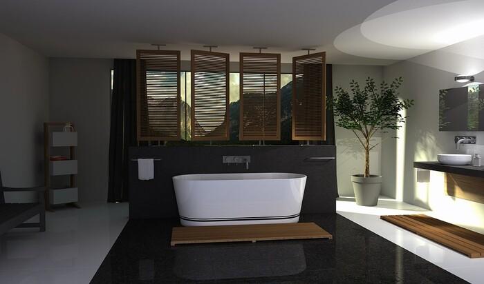 Как создать ванну в стиле дзен, в которой вы познаете настоящее спокойствие