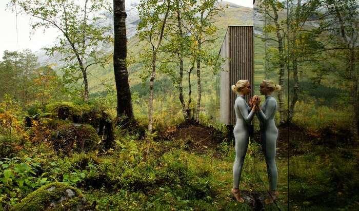 Отель Juvet: невероятный симбиоз норвежских ландшафтов и современного строительства