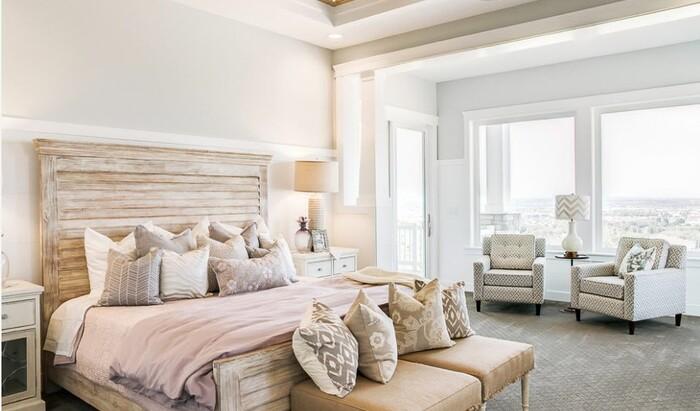 В преддверии объявления цвета Пантон 2018: цвет беленого дуба в интерьере современных домов