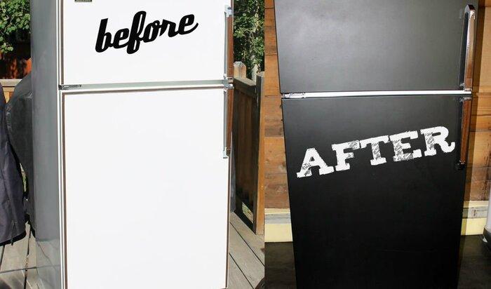 Как покрасить холодильник в домашних условиях?