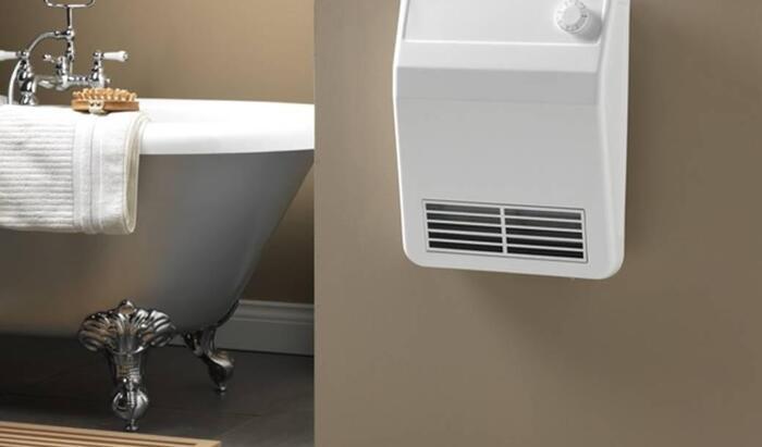 Настенный обогреватель для ванной комнаты