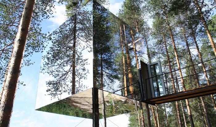 9 необычных и оригинальных отелей на деревьях, в которых стоит побывать