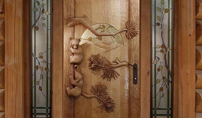 Декор дома деревом: резные деревянные двери как произведение искусства в вашем интерьере