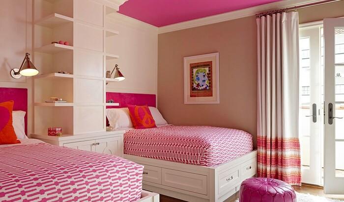 Barbie-style: розовый цвет для романтичного интерьера