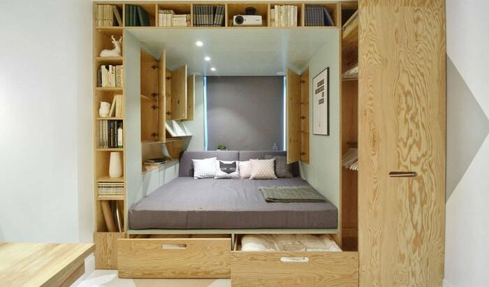 Кровать-подиум: роскошный и функциональный элемент для вашего интерьера