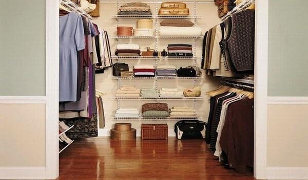 Как сделать гардеробный шкаф в квартире своими руками?