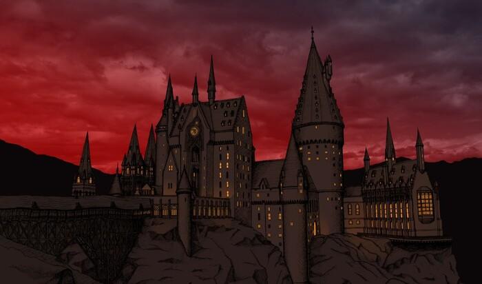 Архитектура замка Хогвартс в реальной жизни: ЧАСТЬ 1