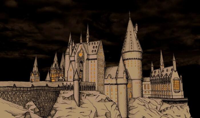 Архитектура замка Хогвартс в реальной жизни: ЧАСТЬ 2