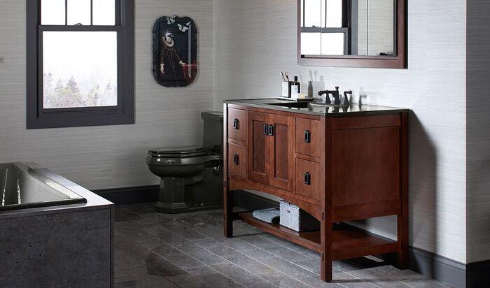 Какую мебель для ванной комнаты выбрать?