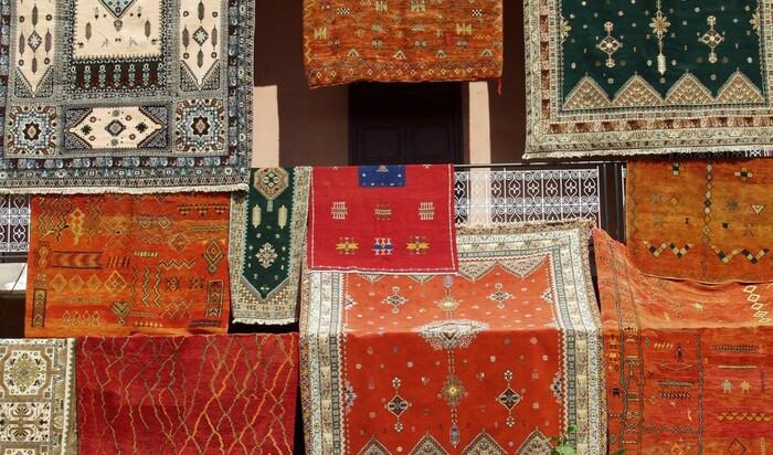 Шерстяной ковер - произведение искусства древнего Востока