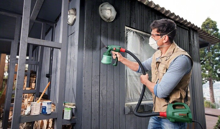 Как выбрать краскопульт для покраски стен и потолка?