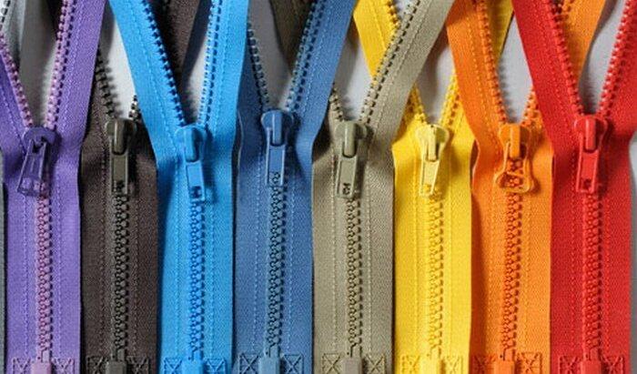 Какие бывают молнии для одежды: разновидности и формы