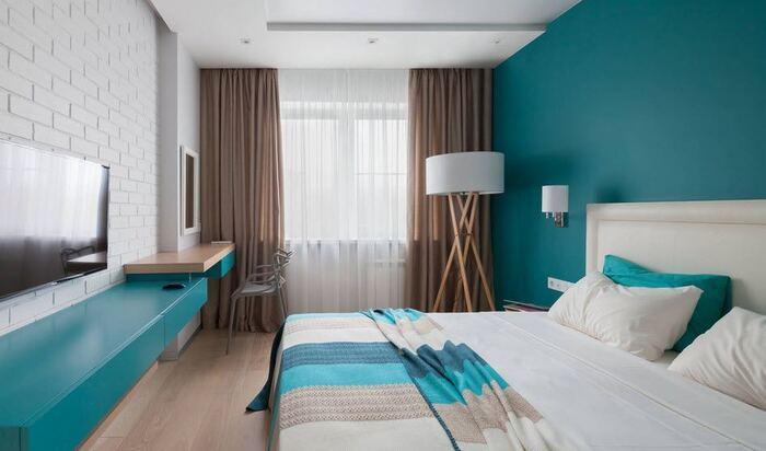 Дизайн узкой спальни: как исправить геометрию пространства
