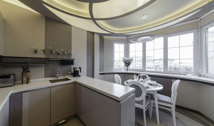 Кухня на балконе: лучшие дизайнерские идеи