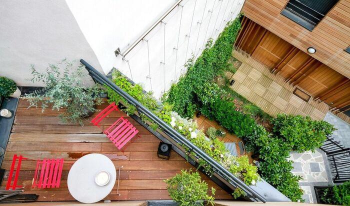 Как украсить террасу при помощи растений и ландшафтного дизайна?