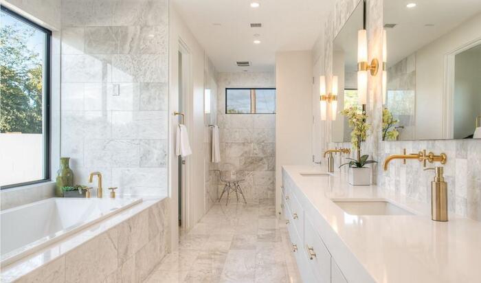 Стили дизайна для ванных комнат