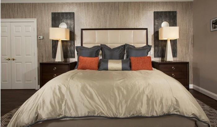 Симпатичные идеи для дизайна интерьера спальни 2018