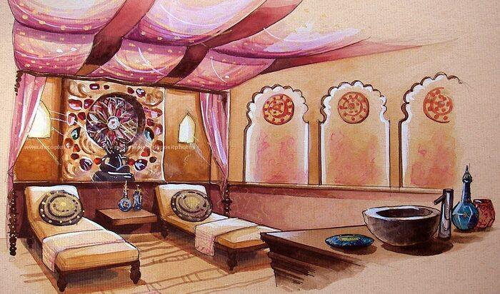 Индийский стиль дизайна интерьера: исследование восточной изысканности