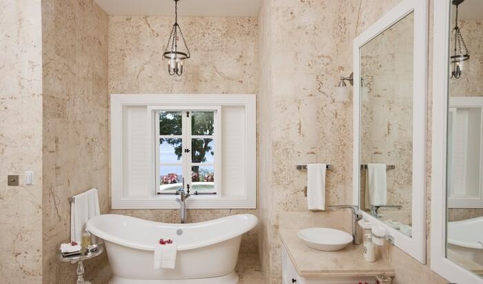 Ванная комната в стиле «шебби шик»