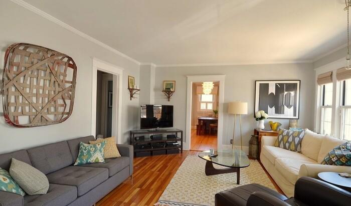 Серый цвет для вашей гостиной: невероятная элегантность интерьера