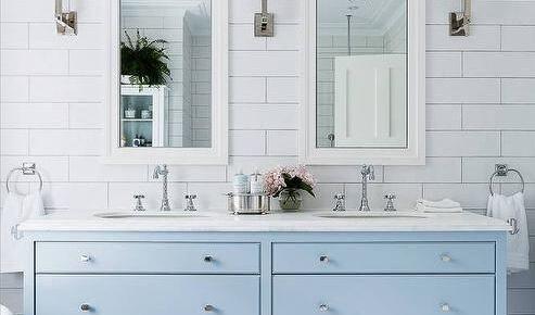 Дизайнерская плитка «кабанчик» для ванной комнаты