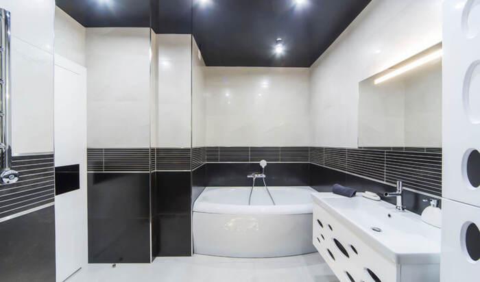 Какой потолок в ванной комнате выбрать: на каком материале остановиться?