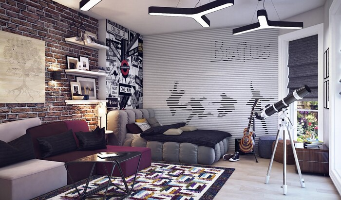 Дизайн большой комнаты: лучшие советы для украшения большой комнаты