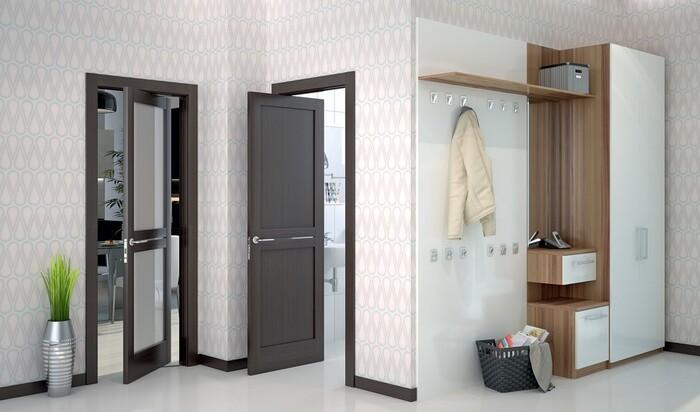 Рото-двери между комнатами: особенности механизма и интерьера