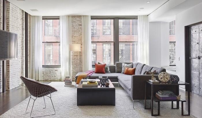 Серый угловой диван в интерьере: вдохновитесь этими фотографиями