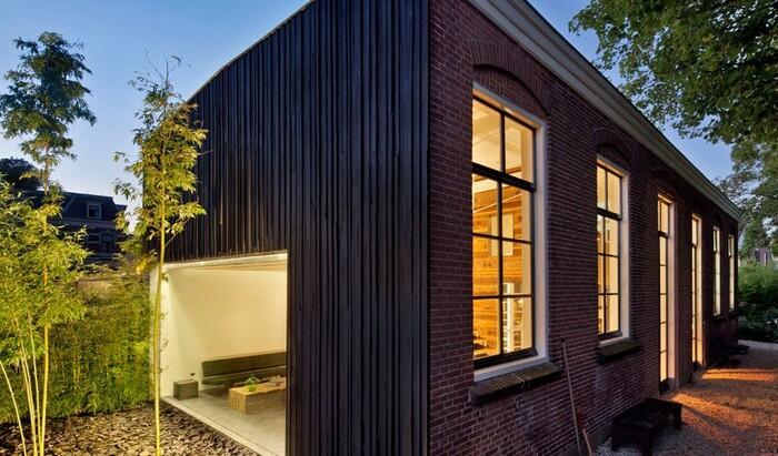 Захватывающий пример дома из сарая с множеством фото
