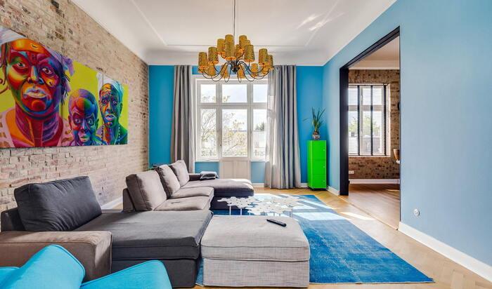 Яркий интерьер в квартире