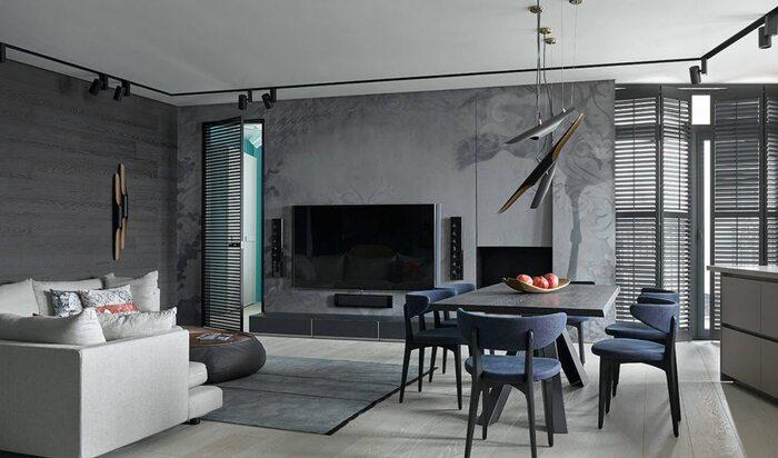 Серый ламинат: коллекция удачных интерьеров