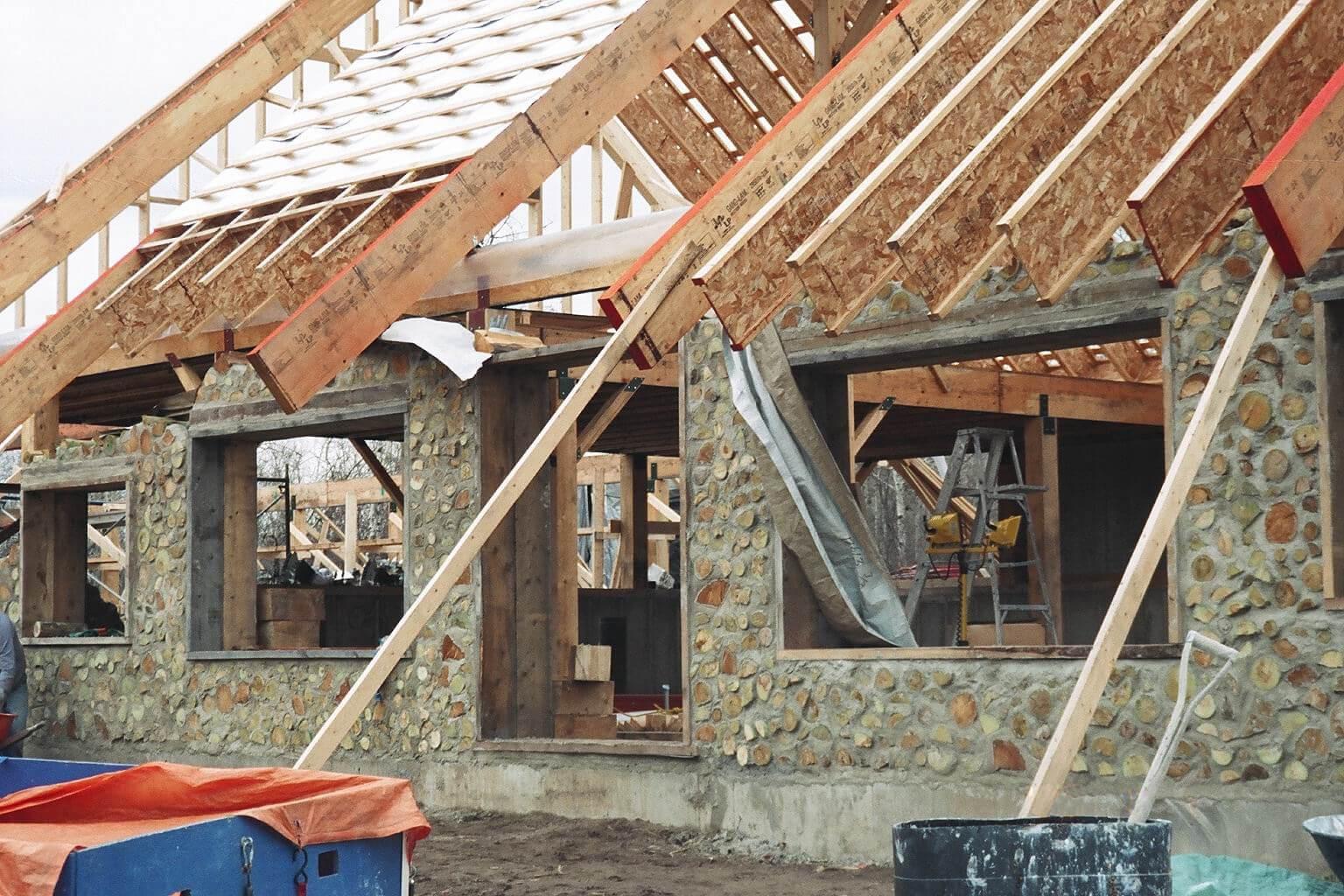 Технология глиночурка - исторический метод строительства домов