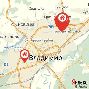 Карта: Отключение электроснабжения