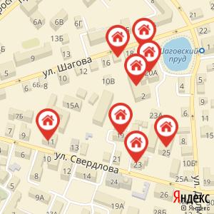 Карта: Отключение отопления