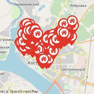 Карта: Отключение горячего водоснабжения
