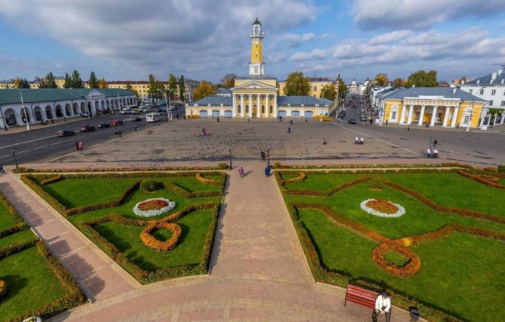 На время акции «Белый цветок» в центральной части Костромы изменится схема организации дорожного движения
