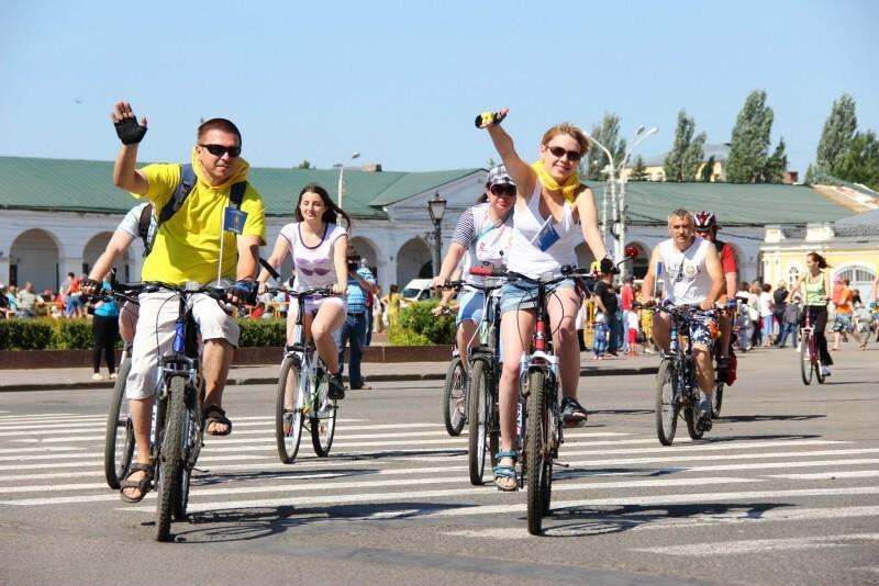 Госавтоинспекция напоминает правила костромским велосипедистам