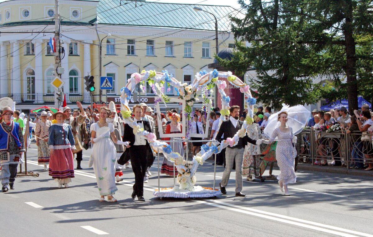 В центральной части Костромы 13 августа будет временно изменена схема организации дорожного движения