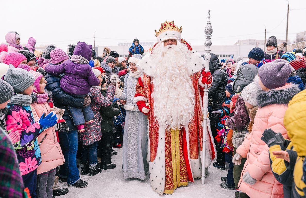 Костромичи встретят Российского Деда Мороза из Великого Устюга 22 декабря