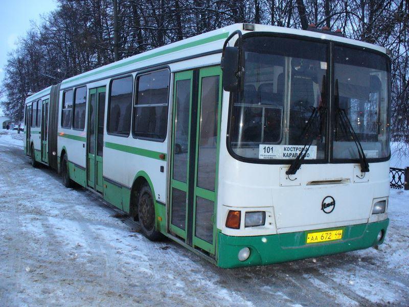 Остановка автобусов межмуниципального маршрута № 101 в центральной части Костромы будет перенесена