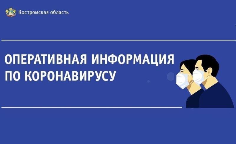 Оперативный штаб: в Костромской области количество инфицированных COVID-19 возросло до 211 человек