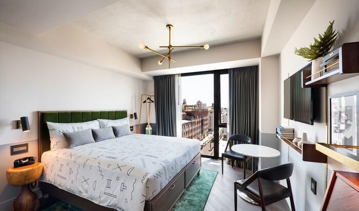5 идей для спальни из лучших отелей мира