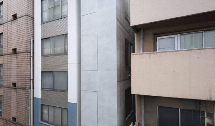 Токийская архитектура: офис шириной 2,7 метра