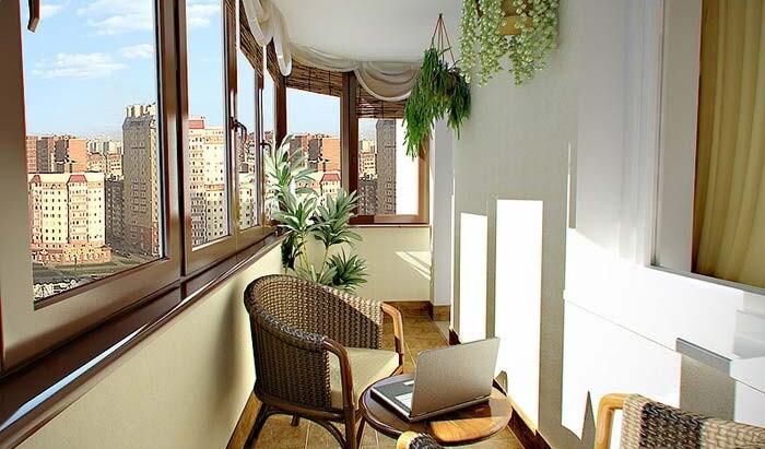 Многофункциональный балкон. Какую комнату можно сделать из балкона