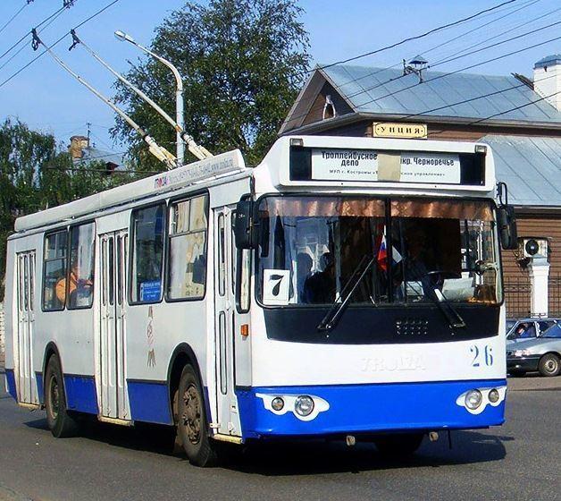 В связи с ремонтом газопровода на улице Ленина временно изменяется путь следования троллейбуса №7