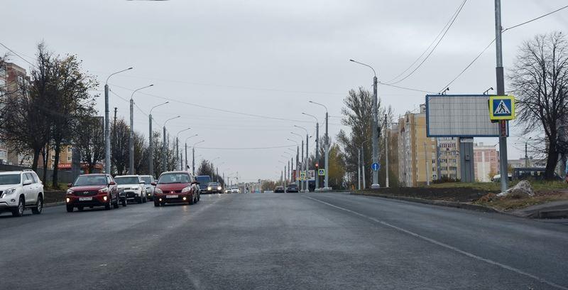После расширения улицы Магистральной в заволжском районе меняется схема организации дорожного движения