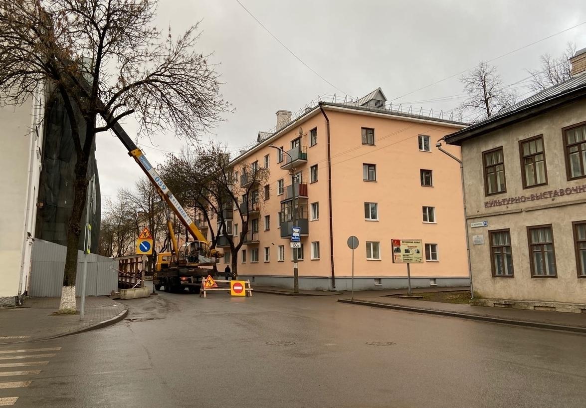 31 октября 2020 с 11-00 до 13-00  будет временно закрыт для движения  автотранспорта  участок улицы Некрасова на протяжении от Комсомольского переулка до Музейного переулка